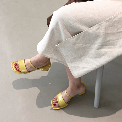 Moss sandal mule (4color)
