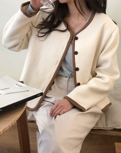 Round jacket (2color)