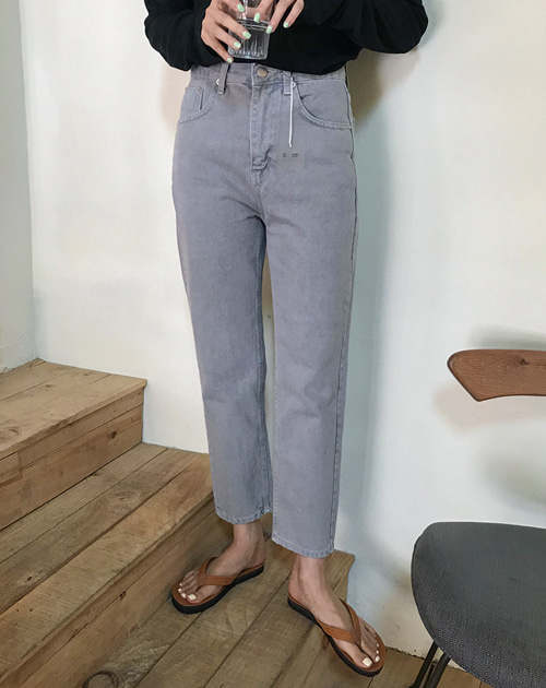 Blue gray denim (S,M,L) / 입고지연